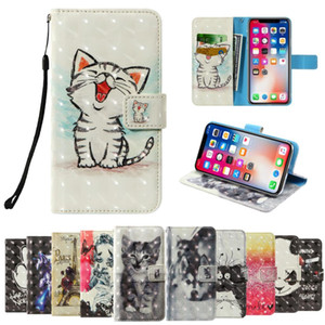 3D flip wallet Leather case For FinePower C5 C1 C3 C4 C6 D1 D2 D3 Fujitsu Arrows F-02H NX Docomo F-01K F-04G F-03K Phone Cases