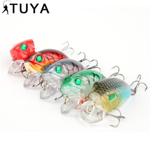 40mm 8g Thrill Thunder Floating Fishing Lure VC01 Rattle Sound Wobbler Artificial Hard Bait Shallow Diving Crankbaits 46#
