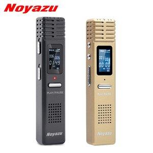Noyazu Original X1 8gb Voice Recorder Voice Activated Recording Wav Hq Digital Audio Recorder Professional Mini Dictaphone Espia T190628