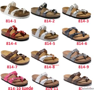 Mayari 2019 New style Summer Beach Cork Slipper Flip Flops Sandals Women MEN Color Casual Slides Shoes Flat Free Shipping 35-46
