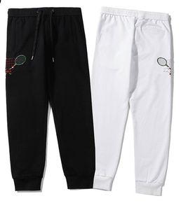 2020 nuovo progettista di marca Hip hop donne Mens ricamo Pantaloni Pantaloni felpa jogging Pantalone lungo Dimensione M-XXL