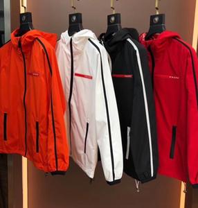 2020 CAÍDA mens nueva chaqueta con capucha carta decoración diseñador ~ ~ chaquetas tamaño chino chaquetas de diseño de buena calidad para los hombres