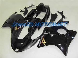 혼다 용 CBR1100 XX CBR1100XX 9700 02 CBR 1100 XX 2000 2002 용 사출 금형 페어링 키트 BLACK Fairing HN02