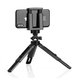 360 Flexible Mini Desk Stative Halter-Standplatz für Handy-Ministandplatz Fotografie Bracket Selfie Einbeinstativ Berg DHL