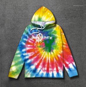 Hop-Rap-Designer Hoodies Art und Weise 3D Graffiti Printing Langarm Hoodies Teenager Sweatshirts Street Hip