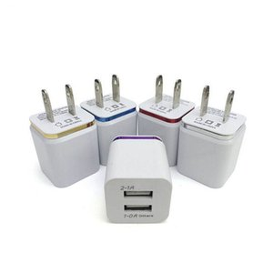 Universal 2A Dual USB Home Travel Wall Charger Charging Power Adapter For HTC Samsung LG Huawei Charger