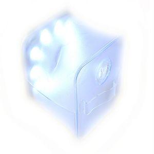 Lâmpada de Campismo LEVOU Selvagem Gás Enchido Energia Solar Lâmpadas de Gramado 0.7 W Transparente Lanternas de Brinquedo Dobrável Criativo Simples 19 8btaD1