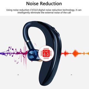 5,0 Bluetooth наушники ушной крючок Беспроводные гарнитуры Nosice Отменяя HD MIC Handsfree Business Driver для iPhone с розничным пакетом