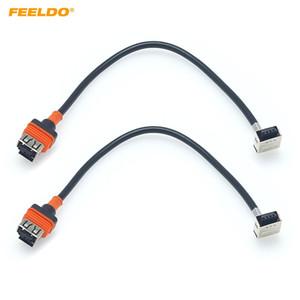 Feeldo 2PCS auto D1S D1C HID Xenon Light ad alta tensione Cablaggio cavo per la lampadina D1S D1C Ballast allo xeno zoccolo dell'adattatore Plug D3 HID D1 # 5986