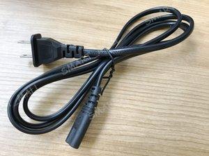 플레이 스테이션 노트북 충전기 2 프롱 미국 EU 플러그 LLFA를 들어 그림 8 AC 전원 코드 라인 와이어 교체 주전원 케이블 1.5M 5 피트
