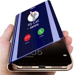 Smart Mirror en cuir pour Huawei Maté 30 Pro 30Lite Luxe Effacer Phone Case Pour Huawei Maté 20 Pro 20Lite