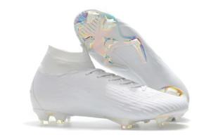 2019 Hot Mercurial Superfly VII 7 360 Elite FG scarpe da calcio CR7 Ronaldo Neymar NJR Mens dei ragazzi alla caviglia alta Scarpa calcio tacchetti il formato 39-45