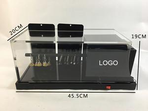 Negro grande TPU PPF Films arañazos de Pruebas de Calidad de coches de alta protección de la pintura de la película Gravelómetro prueba de la máquina MO-620B