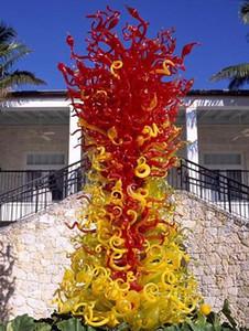 Elegante Sonder Villa Garten-Kunst-Dekoration Skulptur Luxus Große neue Art Art und Weise Murano geblasenem Glas-Skulptur