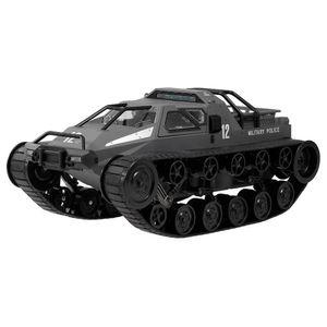 SG 1203 01.12 2.4G Militärpolizei Drift Tank Model 12km / h High-Speed RC Panzer RTR für Kind-Geschenk - Schwarz