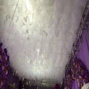 Nouvelle arrivée White Cloud Top neige fil mariage plafond Sheer décoration pour fournitures de mariage événement Décor Centerpieces