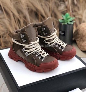 Retro Ankle Martin Boots Men High Top Sneakers Women Fashion Boots Designer Triple Luxury Women Shoes 2019 New Style