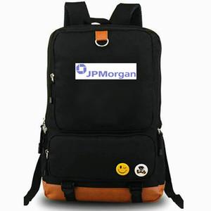 JP Morgan Sac à dos JPMorgan Chase Daypack Banque Classic Bank Logo Meilleur ordinateur portable Scolaire Scolaire Loisirs Rucksack Sport Sac à école Extérieur Day Pack