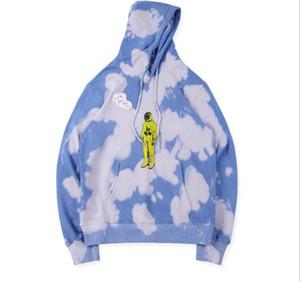 Travis Scott ASTROWORLD Mundo Mulheres Homens Hoodies Melhor Qualidade Tie dyeing Camisolas Dos Homens TRAVIS SCOTT Moletom Com Capuz Pullover