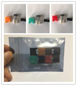 20 pcs Epacket 0.7 ml Vazio Algodão Pod Vagens de Cerâmica para Juu Vape Caneta Kit 280 mah Pods Portátil Starter Kit Pods Carregador USB Sem Fio