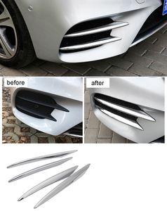 100% Yüksek kalite ABS Ön Tampon Guard Kapak Araba Aksesuarları Için Mercedes Benz E-Class W213 E200 E300 E320 2016 2017