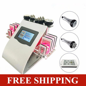 Ultrasonic Cavitation Machine Lipo Laser Weight Loss Slimming Face Lift RF Vacuum Body Shaping Fat Loss Multi-Function Beauty Equipment