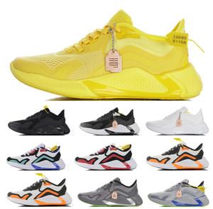 2020 venta caliente AlphaBounce instinto CC M zapatillas de deporte de la raya amarilla listo reaccionar blanca llena de color negro zapatillas de deporte de los deportes respirables EUR 40-45