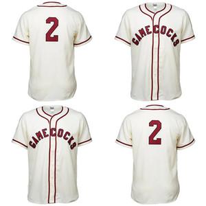 South Carolina Gamecocks 1967 Maglia 100% cucito ricamo Vintage baseball pullover su ordinazione di trasporto