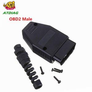 Abertura ATDIAG OBD OBD2 16Pin Female Extension Cable Car Diagnostic Interface Conector OBD II Feminino Converter OBD2 cabo macho