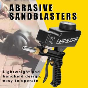 para Remoção de Mancha Rust Gravity Feed portátil pneumático abrasivo sandblasters Jateamento Gun Acessórios Car