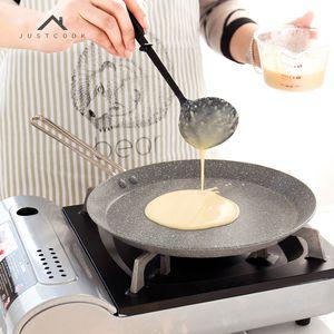 Justcook 20/24 / 28CM Frying Pan antiadhésifs Grill Pans Egg Pancake Pan Ustensiles de cuisson Casseroles T200523