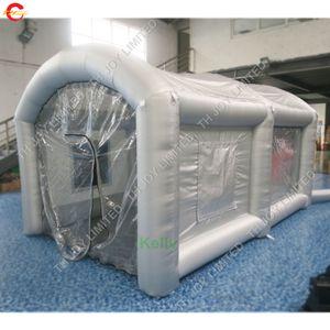 бесплатная доставка Надувной спрей Booth портативный Spray Paint Booth Продажа мобильных работа станция Автомобиль Картина Комната надувной палатки