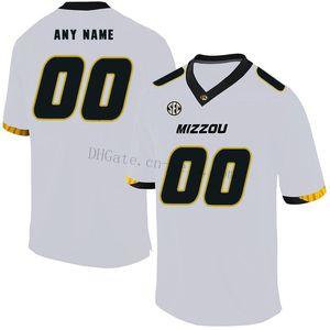 Настроить сравнения цен Миссури Тигры любое имя s-ХL сшитые черный белый НКАА колледж футбол Джерси #8 Джастин Смит Джерси