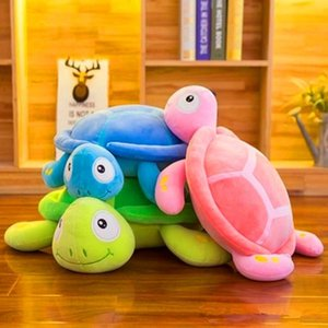 20170706 Ventas calientes Cute and Lovely Stuffed Animals Toy Tortoise Dolls Plush Toy Regalos de Año Nuevo