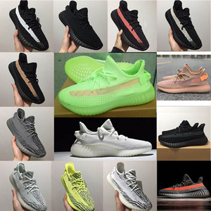 2020 Classic New kanye V2 Shoes Static Butter Kanye West Men Women V2 Casual Shoes Sports Training Sneakers eur 36-47