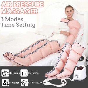 3 Modos Air Chambers Terapia Leg Compression Massager Vibração Infrared braço cintura ar pneumática Wraps Relaxe Pain Relief Massage