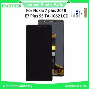 6,0 Zoll für Nokia 7 Plus-TA-1062 LCD Display Touch-Screen-Analog-Digital wandler für Nokia E7 Plus mit kostenlosen Tools