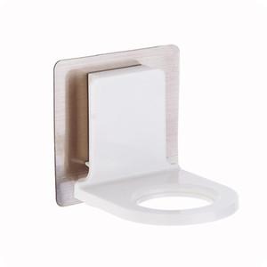 Shower Gel Bottle Hook Rack Self-adhesive Bathroom Hand Sanitizer Hanging Holder For Household Bathroom Decoration EEA1642