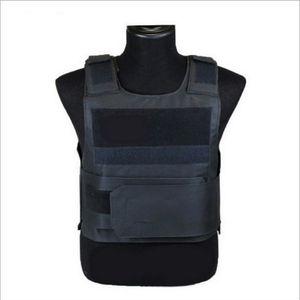 Männer Frauen Security Guard Außenstichschutzweste Tactical atmungsaktiv