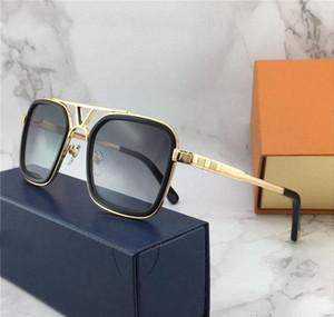 Nouvelle vente populaire Fashion Designer lunettes de soleil de Femmes / Hommes polarisants 0947s Cadre carré plaque supérieure anti-UV400 lentille avec la boîte