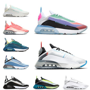 Nike Air Max 2090 Be true scarpe da corsa da donna per uomo Pure Platinum Blue Volt Duck Camo Ice Blue Pink Foam sneaker da uomo