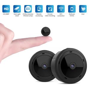 W10 Mini cámara WiFi 1080P HD IR Visión nocturna Seguridad para el hogar Cámara IP Detección de movimiento mini DVR Monitor de bebé