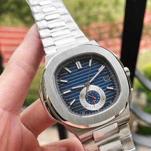 Top Brand Mens Watches Luxury Designer Mechanical Automatic Steel Band Luxury Nautilus Watch