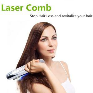 Электрическая Лазерная Гребень Обработки Способствует Новой Мощности Роста Волос Grow Лазерная Расческа Kit Regrow Потеря волос Лечение Потери волос