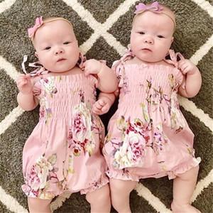 Pudcoco Yenidoğan Sevimli Kız Bebek Çiçek Romper Vücut Baby One adet Şort Tulum Bebek Giyim uyacak
