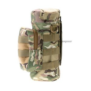 Outdoor Sports Water Bottle Bag Tactical Military Molle System Water Bottle Pouch Portable Kettle Holder