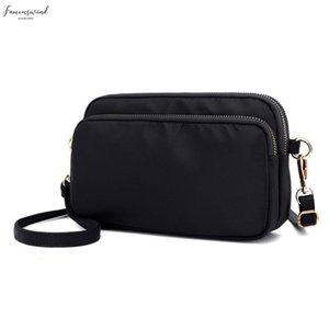Womens Messenger Bags Ladies Nylon Handbag Travel Zipper Casual Clutch Bag Shoulder Female High Quality Large Capacity Crossbody Bag