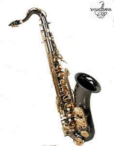 Saxophone ténor New Nickel noir or New YANAGISAWA T-902 B support plat Saxophone ténor avec embouchure, étui professionnel