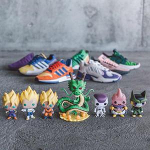 Moda DRAGON BALL Z Zapatillas de running Goku FRIEZA EQT Shenron Prophere Cell Majin Buu Vegeta Son Gohan Diseñador Spots Zapatos