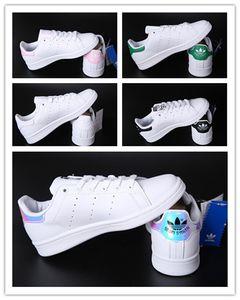 Adidas stan smith  New klassische wilder Schal Kopf Sportschuh Männer und Frauen kleine weißen Schuhe weiche Sohle